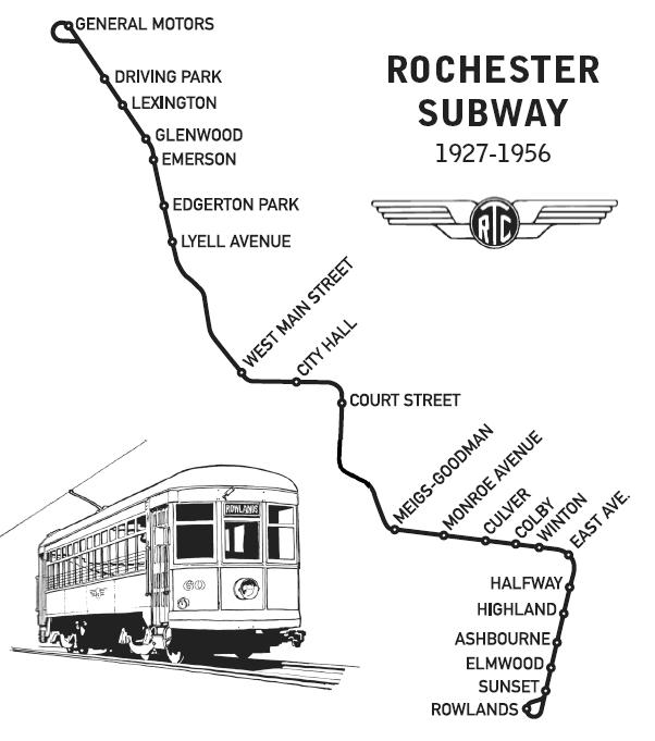 Rochester Subway Map