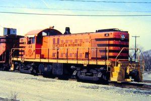 Genesee & Wyoming No. 44