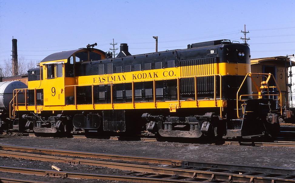 Kodak Park Railroad No. 9