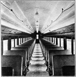 Erie Stillwell Coach Interior 1915
