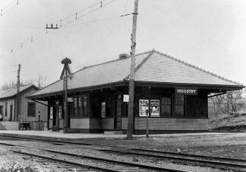 Erie Railroad Industry Depot 1910