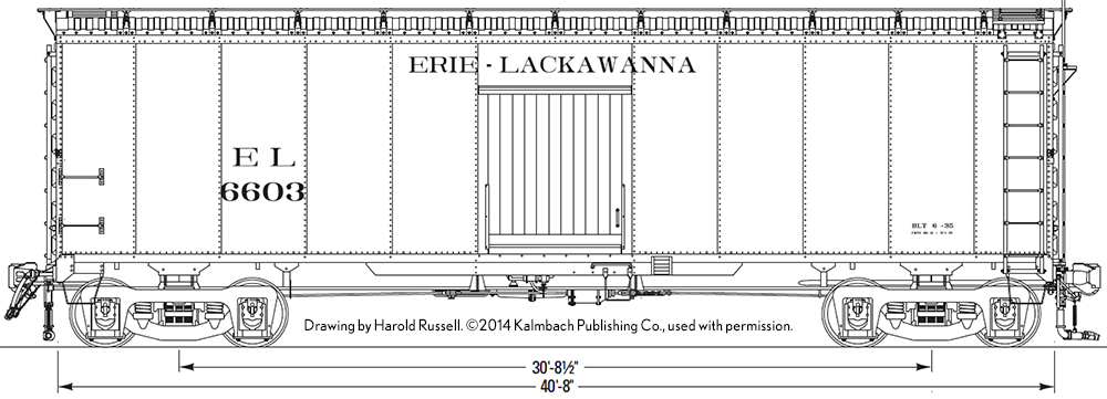 Erie 6603 - Harold Russell Drawing