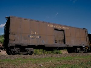 Erie Milk Car 6603