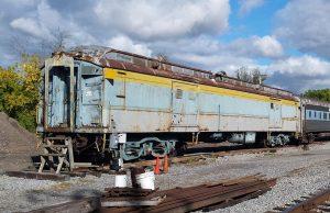Baltimore & Ohio baggage car No. 633