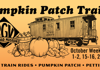 Pumpkin Patch Train Rides in October