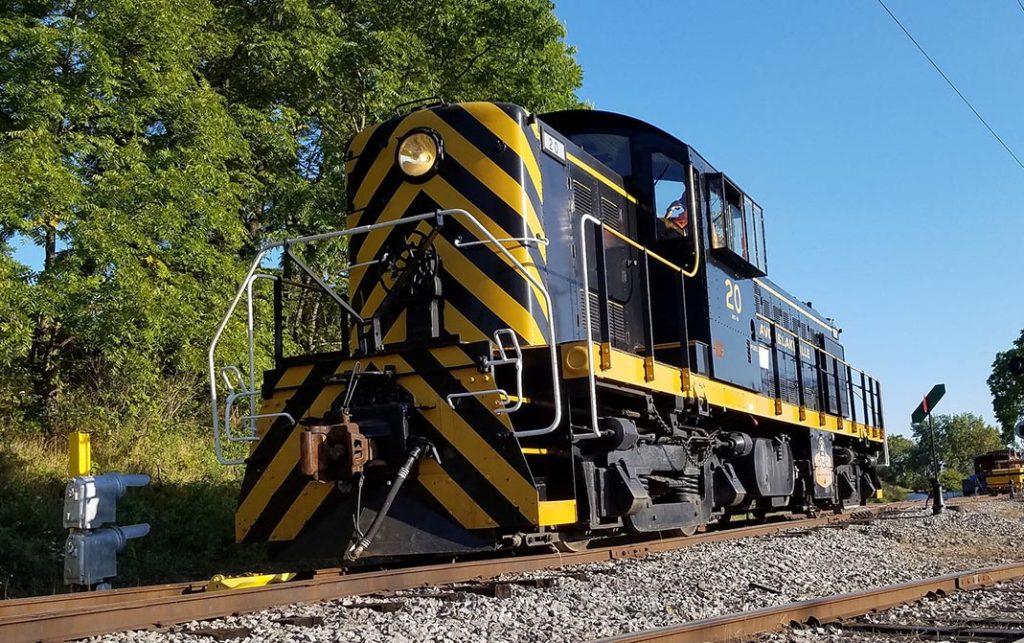 Livonia, Avon & Lakeville Alco RS-1 20