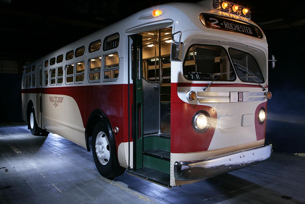 Regional Transit Vintage Bus