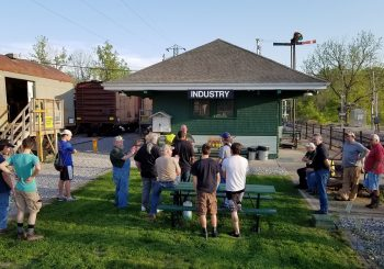 July 19 Museum Meeting at the Depot