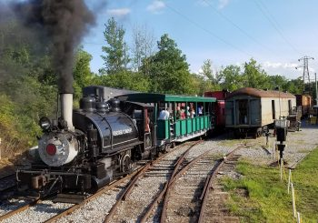 Ride behind a real steam train on August 26-27