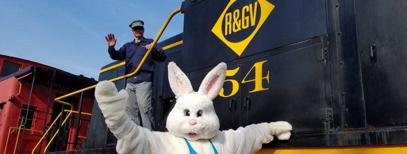 Easter Bunny Trains
