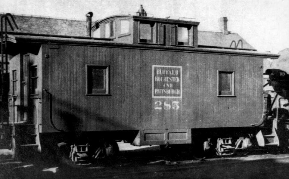 Buffalo, Rochester & Pittsburgh caboose 285