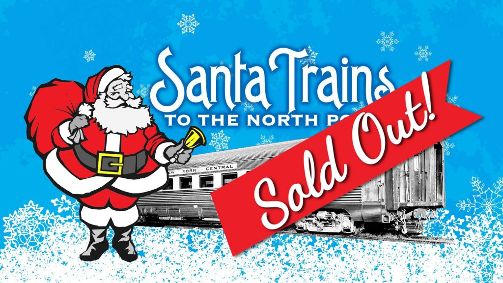 Santa Trains Sold Out