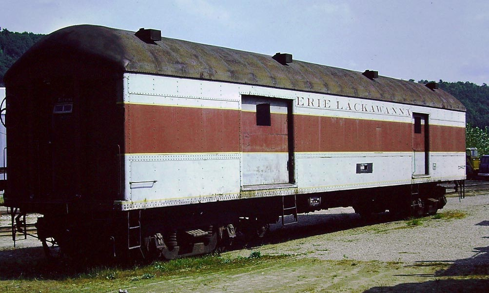 Erie Lackawanna Baggage Car