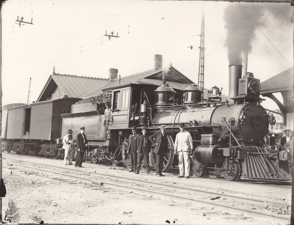 Erie Railroad, Avon, NY, 1910