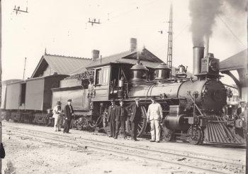Erie Railroad, Avon, NY, 1910