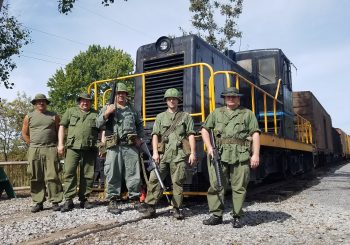 Sept. 19-20 – Salute to Veterans Train Rides