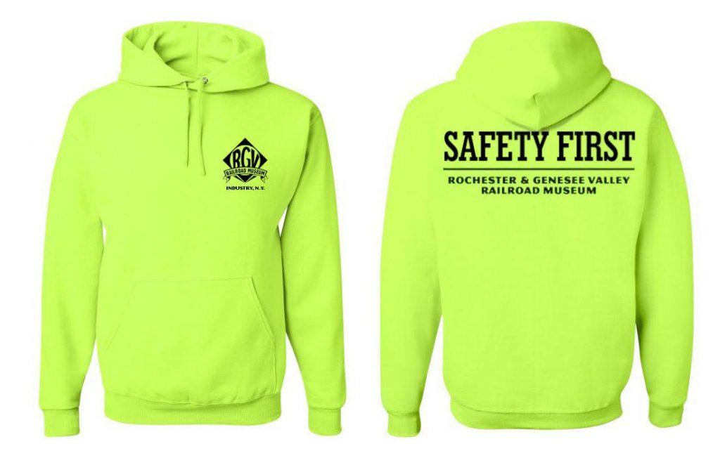 Hi-Viz/Safety Hoodie