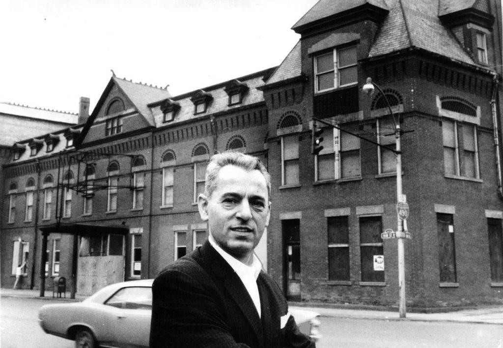 Nick Tahou 1965 BR&P Station