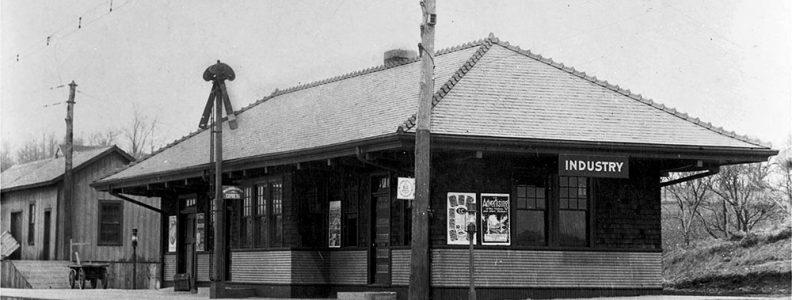 Erie Railroad Industry Depot 1910