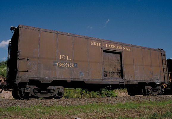 Erie Milk Car 6603