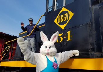 April 20 – Easter Bunny Train Rides